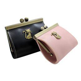 Ladies Wallets Purses Handbags Australia - Wholetide- Pop Womens Retro Clutch Hasp Key Change Wallet Purse Coin Bag Mini Handbag Solid Female Wallet Lady Clutch Change Purses