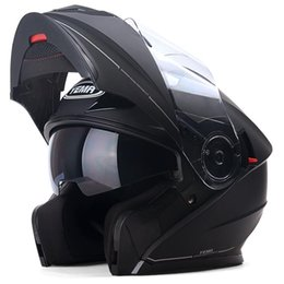Genuine Helmet NZ - Genuine YEMA927 Flip Up Racing Motorcycle Helmet Motorbike Double Visor Lens Men Warm Winter Summer Motor Bike Scooter Helmets