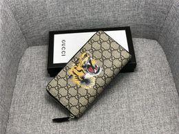 Pvc Long Zipper NZ - 2019 new designer luxury handbags purse simple wallet brand original fashion single zipper cheap luxury designer women's PVC wallet