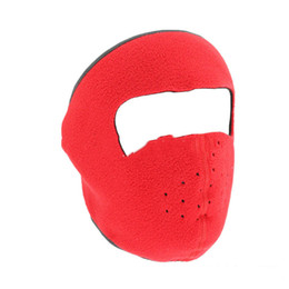 $enCountryForm.capitalKeyWord Australia - New Dust-proof Cycling Face Mask Windproof Winter Warmer Fleece Bike Full Face Scarf Mask Neck Bicycle Snowboard Ski Men