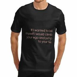 $enCountryForm.capitalKeyWord Australia - Men's Ego To IQ Funny Rude Slogan T-Shirt