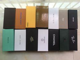 10шт, модный бренд стиль оригинальная коробка чехлы карты Чистый для солнцезащитных очков Очки классический дизайн солнцезащитные очки чехол, коробка и чистая ткань на Распродаже