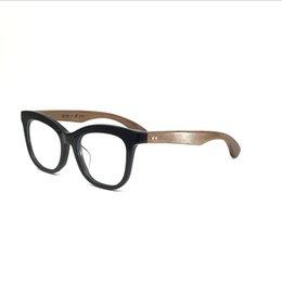 f7c938ec9a Coyee 2019 New Handmade Acetate Eye Glasses For Women Men Retro Myopia Frame  Rosewood Temple High Quality Eyewear Full Optical