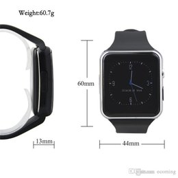 $enCountryForm.capitalKeyWord Australia - 2019 X6 smart watch mobile phone smart watch curved screen mobile phone with SIM TF card slot camera for Samsung Android smart watch