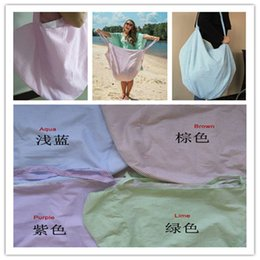 $enCountryForm.capitalKeyWord Australia - Designer Striped Tote Women Duffle Bag Oversize Blue Purple Brown Green One Shoulder Bags HOBO BAG Seersucker Beach Bag Outdoor Bags A418010
