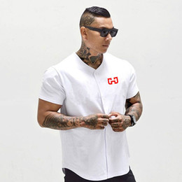 $enCountryForm.capitalKeyWord Australia - Cropped Men's Baseball Jersey New Arrival Tee Men T-shirts Short Sleeve Tshirt Sportswear COTTON Casual Letter Summer
