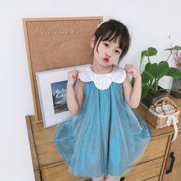 $enCountryForm.capitalKeyWord UK - High-end Girl Dress Xia 2019 Net Dress Birthday Dress Fairy Skirt Sleeveless A Zipengpeng Princess Tongqun
