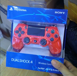 Sony Ps4 Wireless Controller NZ - DHL PS4 slim Wireless Bluetooth Game Gamepad SHOCK4 Controller Playstation For Sony PS4 Controller with retail box