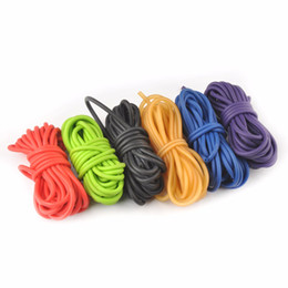 $enCountryForm.capitalKeyWord Australia - Outdoor Gadgets 10m New Natural Latex Rubber Tube Stretch Elastic Slingshot Replacement Band Catapults Sling Rubber Wholesale
