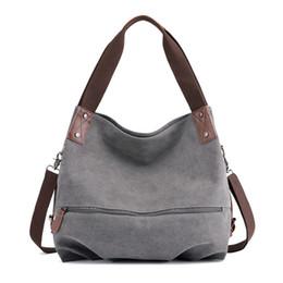 Spring Hand Bags Australia - Shoulder Bag Female Leisure Plain Spring-Summer New Style Hand Shoulder Bags Versitile Fashion Ms Canvas Bag