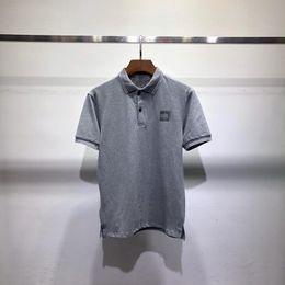 Wholesale american polos for sale – custom Designer Mens Polo Shirts Summer Brand Polos Shirt Mens Fashion Luxury T shirts Business Short Sleeve Designer Tops Tees K