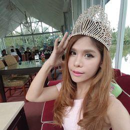 $enCountryForm.capitalKeyWord Australia - New Gold Silver Color Queen Luxury Crystal Rhinestone Big Tiara For Wedding Large Crown Hair Accessories For Bride Headress J190703