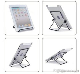 $enCountryForm.capitalKeyWord Australia - best Iron Metal Adjustable Folding Holder Stand For A13 Q88 Android tablet PC smart phone Hotsale free shipping 2019 2019