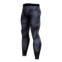 9096f7c46cc 2019 New Mens Compression Tights Fitness Skinny Leggings Men s Pants  Breathable Underwear Rashguard Joggers Sweatpants Trousers