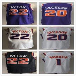 Jackson sports online shopping - 1 Devin Suns Booker Josh Men s Jackson DeAndre Ayton Basketball Jerseys New season Fashion Player version Men Sport Jersey