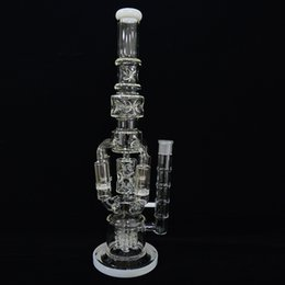 $enCountryForm.capitalKeyWord Canada - Big Glass Water Bongs Recycler Dab Oil Rigs 18 inches Rocket to Honeycomb Perc Bubbler Pipes Functional Ice Catcher Hookah Pipe Beaker Bong