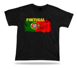 portugal gifts NZ - Portugal flag Tshirt T-shirt Tee top city map Quinas stunning original gift 2018 New Leisure Fashion t-Shirt men cotton short sleeves