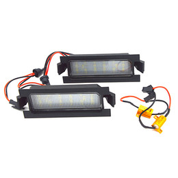 $enCountryForm.capitalKeyWord UK - 2pcs Canbus 18SMD Led Number License Plate Light Lamp for Hyundai I30 (GD)2013 2014 2015 Auto Car-styling