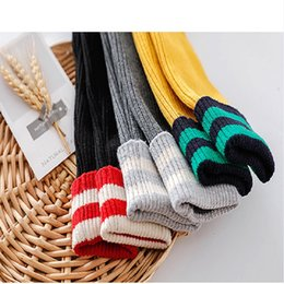 $enCountryForm.capitalKeyWord NZ - Cotton Children Leggings Kids Stripes Thick Warm Leggings Kids Winter Warm Trousers Boys Girls Colorful Tights