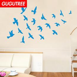 $enCountryForm.capitalKeyWord Australia - Decorate Home bird cartoon art wall sticker decoration Decals mural painting Removable Decor Wallpaper G-1878