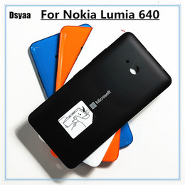 $enCountryForm.capitalKeyWord Australia - 5.0 Inch for Nokia Microsoft Lumia 640 Back Cover Housing Replacement Parts for Nokia Lumia 640 Battery Cover with Free