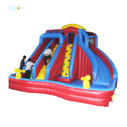 inflatable slides for sale UK - Large Slide Inflatable Water Slide With Pool For Sale PVC Commercial Use