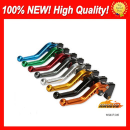 cnc lever honda NZ - 10colors Brake Clutch Levers For HONDA VTR1000F SuperHawk VTR 1000 F 1000F 97 98 99 00 01 02 03 04 05 CL503 100%NEW CNC Disc Handle Levers