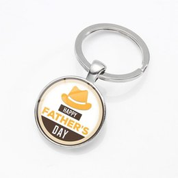 $enCountryForm.capitalKeyWord Australia - European and American explosions Happy fathers day series one time gemstone keychain small gifts can be customized wholesale