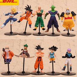 $enCountryForm.capitalKeyWord Australia - 10 Pcs set Dragon Ball Q Version Frieza Son Goku Piccolo Cell Tien Shinhan Master Roshi Torankusu Plastic Action Model Toy 5-10CM OPP G134
