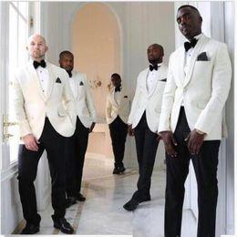 $enCountryForm.capitalKeyWord Australia - Design Wedding Groomsmen Suits Business Tuxedos Two Pieces (Blazer+Pant) Best Man Prom Clothing With Black Pants