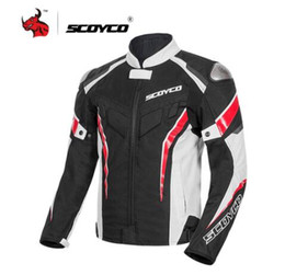breathable motocross gear NZ - Motorcycle Jacket Protective Gear Reflective Summer Motocross Jacket Breathable Moto Jacket Motorcycle Protection Armor