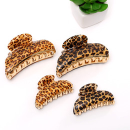 $enCountryForm.capitalKeyWord Australia - Women Hairpins Hair Clips Leopard Clamps Bobby Clips Barrettes Headwear For Ladies Girls Fashion Hair Tools Accessories Headdress Jewelry