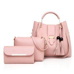 $enCountryForm.capitalKeyWord NZ - Top Sales Classic Plain Vintage Style Cross Body Bag for Women Fashionable Shoulder Bucket Bag for Business Women Lady Handbag Purse Totes