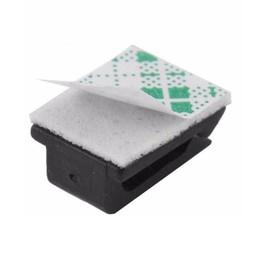 Plastics Car UK - Car Plastic Self-adhesive Holder Wire Tie Clamp Clips Cord Data Cable Fixer Organizer Drop Adhesive Accessories Fix Clip