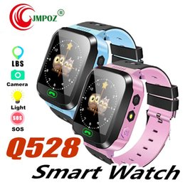 $enCountryForm.capitalKeyWord Australia - Cute Sport Q528 Kids Tracker Smart Watch with Flash Light Touchscreen SOS Call LBS Location Finder for kid Child PK Q50 GPS tracker +package