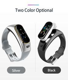 Smart Watches For Windows Australia - H109 Smart Watch Bluetooth Wireless Earphone Blood Pressure Heart Rate Monitor Smart Bracelet for smart phone