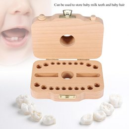 Discount browning baby bedding - Wooden Camera-pattern Storage Box Case for Baby Milk Teeth and Baby Hair