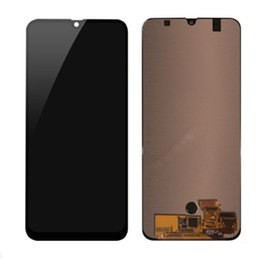 SamSung mobile lcd online shopping - Original Mobile Phone Parts Touch Screen For Samsung Galaxy A50 A505 A505F Display Panel Digitizer Assembly Frame Replacement