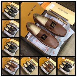 $enCountryForm.capitalKeyWord NZ - Newst HOT sale Big size 38-46 man dress shoe Flat Shoes different style and color Leathe Luxurious Men's Business Oxfords Casual Shoe