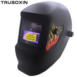 Weld mask darkening online shopping - LED Light Li Battery Solar Automatic Darkening Welding Helmet Mask Eyes Protection Welder Cap Welding Lens for Welding Machine