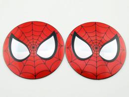 Sticker Spider man online shopping - Spider man Emblem Decal Car Sticker Auto Body Wheel Tyre Hub Center Badge Motorcycle