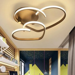 $enCountryForm.capitalKeyWord NZ - VEIHAO New modern LED ceiling lamp living room bedroom lighting acrylic shade restaurant kitchen ceiling lamp