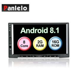 Panlelo S15 Android 8.1 Autoradio Octa Core 2G 16G GPS Navigation AM / FM / RDS Auto 7 Zoll IPS kapazitiver Touchscreen im Angebot
