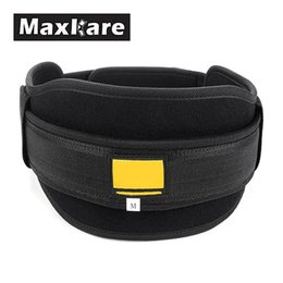 Wholesale Maxkare Nylon Sports Waist Support Belt WeightLifting Boxing Protection Fitness Back Support Training Belt