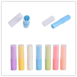 $enCountryForm.capitalKeyWord Australia - Empty Lip Tubes Transparent 4g Lip Tubes Containers Mixed Color DIY Lipstick Fashion Cool New