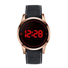 $enCountryForm.capitalKeyWord Australia - Fashion Men's Touch Screen Watches Unisex Men Silicone Strap LED Digital Wrist Watch Date Clock Sports Watches #Zer