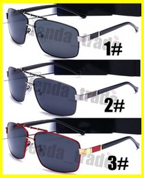 b030392ea68 New Driving Sunglasses Men Polarized Brand Designer Sports sun glasses  Cycling Metal Sun Glasses Oculos De Sol Best quality AUD550 5PCS