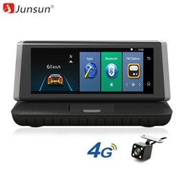 car gps europe maps NZ - Junsun E35 Car GPS Navigation Android 5.1 ADAS 4G Bluetooth DVR Rear View Camera FM 8 inch Capactive Screen 2017 Europe Map