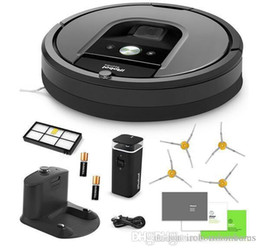 $enCountryForm.capitalKeyWord Australia - Hot Sale iRobot Roomba 960 Vacuum Cleaning Robot Dual Mode Virtual Wall Barrier with Batteries Extra High Efficiency Filter 4 Extra Sidebrus