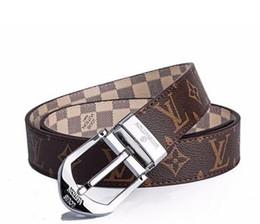$enCountryForm.capitalKeyWord UK - 2018 Design Belt Men and Women Fashion Belts Genuine Leather Luxury Belt Brand Waist Belts Gold Silver L Buckle belt